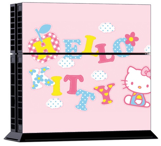 Sony PS4 Skin - Hello Kitty