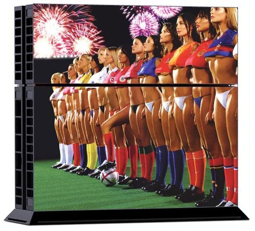 Sony PS4 Skin - Sexy Girls