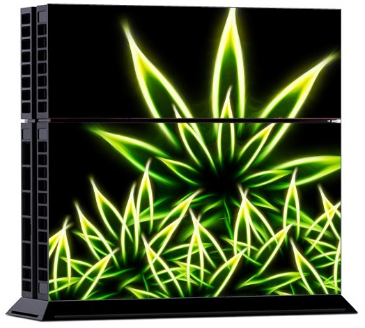 Sony PS4 Skin - Cannabis Weed