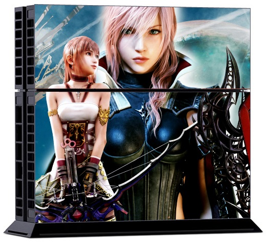 Sony PS4 Skin - Final Fantasy XIII