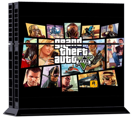 Sony PS4 Skin - Grand Theft Auto
