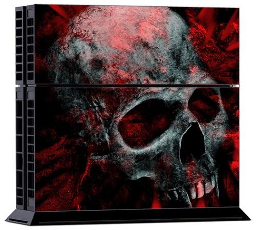 Sony PS4 Skin - Vampire Skull