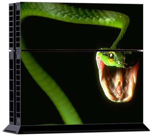 Sony PS4 Skin - Animal Snake