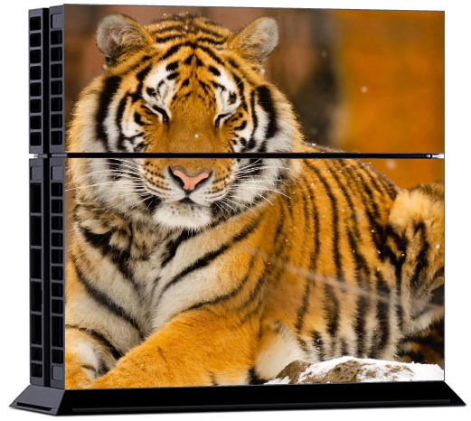 Sony PS4 Skin - Animal Tiger