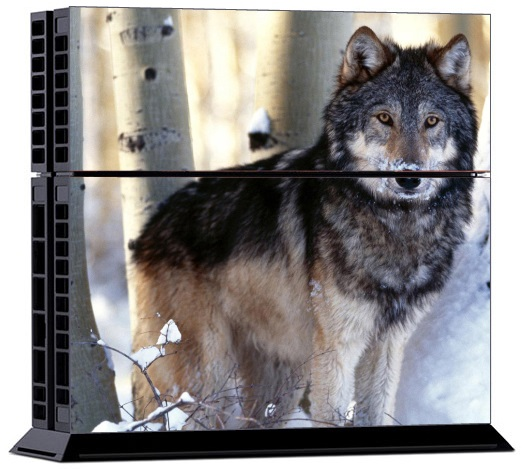 Sony PS4 Skin - Animal Wolf