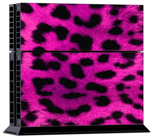 Sony PS4 Skin - Tiger Skin Purple
