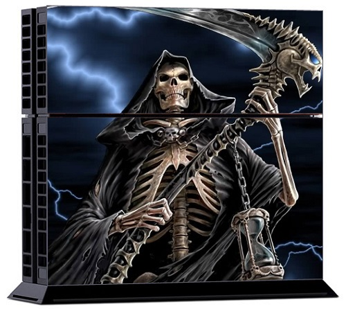 Sony PS4 Skin - Grim Reaper Skull