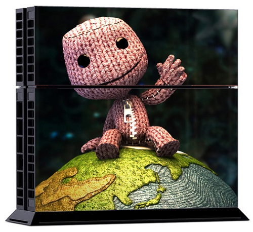 Sony PS4 Skin - Little Big Planet