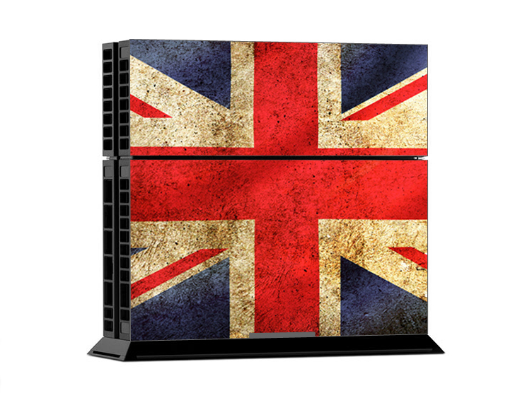 Sony PS4 Skin - Union Jack