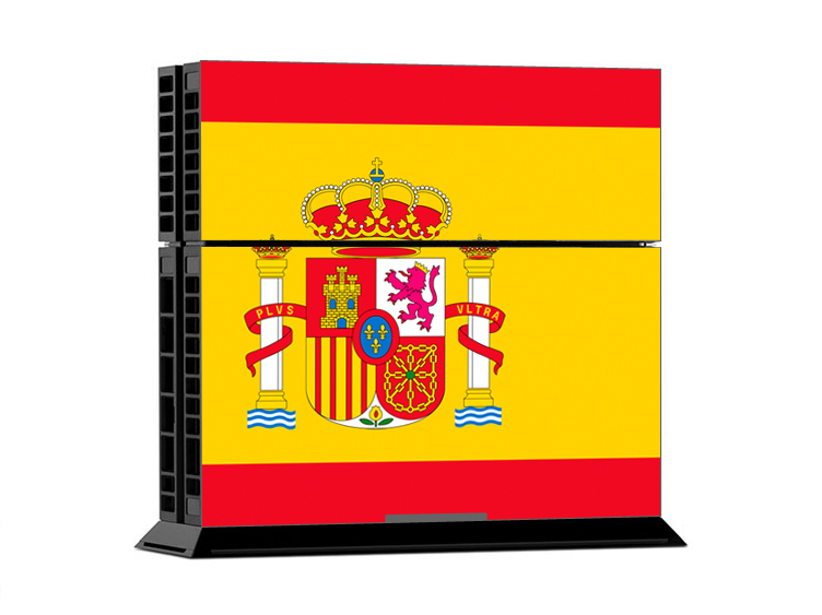 Sony PS4 Skin - Flag Spain