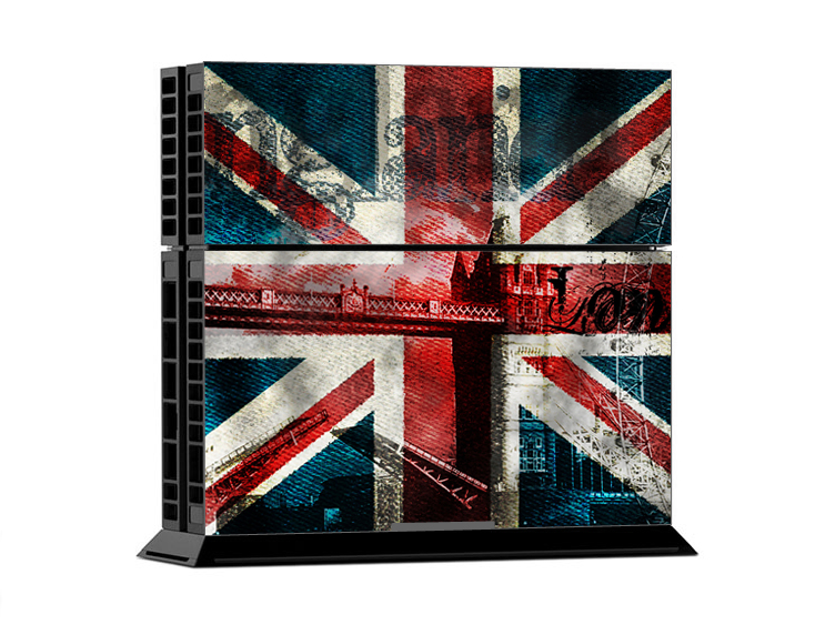 Sony PS4 Skin - Union Jack Denim