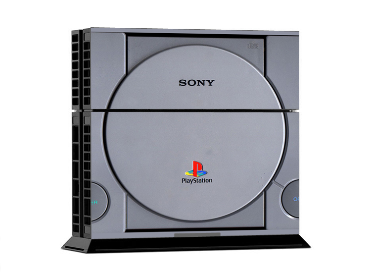 Sony PS4 Skin - PS2 Classic