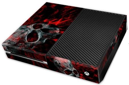 XBox One Skin - Vampire Skull Red