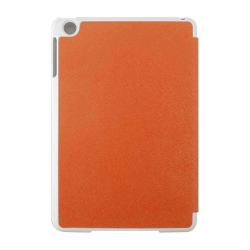 Ipad Mini Flip Cover Orange Back