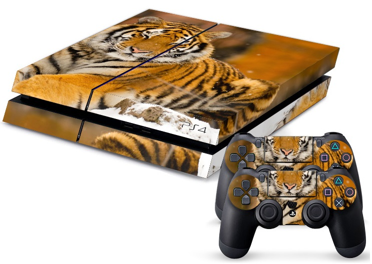 PS4 Skin - Animal Tiger