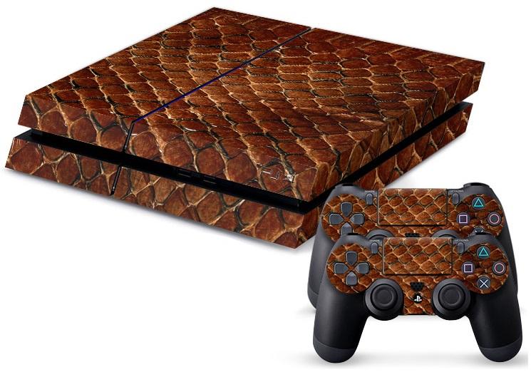 PS4 Skin - Snake Skin 2