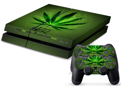 PS4 Skin - 420 Four-Twenty