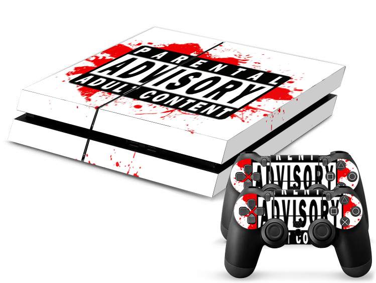 PS4 Skin - Parental Advisory