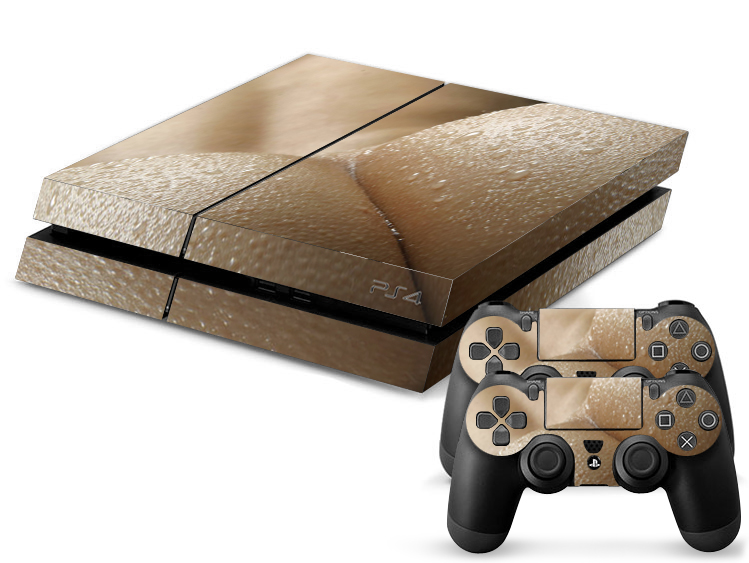 PS4 Skin - Tushy