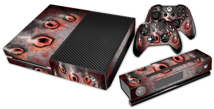 XBox One Skin - Bullet Holes