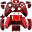 Xbox One Wireless Controller Shell Red Skull Pattern