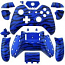 Xbox One Wireless Controller Tiger Stripe Blue