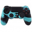 PS4 Dualshock Silicone Case Multicolor Blue Black