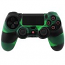 PS4 Dualshock Silicone Case Multicolor Black-Green