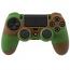 PS4 Dualshock Silicone Case Multicolor Green Brown