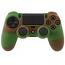 PS4 Dualshock Silicone Case Multicolor Green Brown