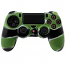 PS4 Dualshock Silicone Case Multicolor Green White Black