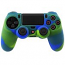 PS4 Dualshock Silicone Case Multicolor Yellow Blue