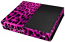 XBox One Skin - Animal Tiger Skin Purple