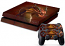 PS4 Skin - Red Dragon