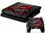 PS4 Skin - Black Red Dragon