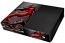 XBox One Skin - Red Black Dragon