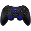 PS3 Doubleshock Bluetooth Wireless Controller Black Blue