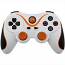 PS3 Doubleshock Bluetooth Wireless Controller White Orange