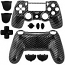 PS4 Controller Shell Dualshock Carbon