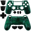 PS4 Controller Shell Dualshock Circuit Board Green