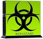 PS4 Skin - Bio Hazard
