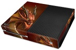 XBox One Skin - Red Dragon