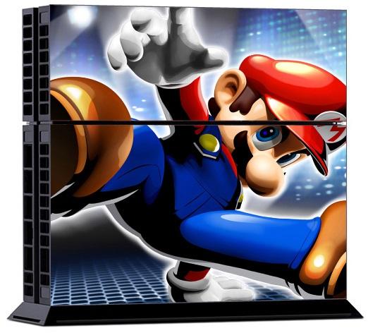 Sony PS4 Skin - Super Mario