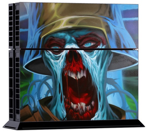 Sony PS4 Skin - Zombie Trooper