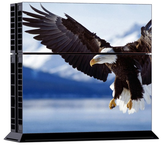 Sony PS4 Skin - Animal Eagle