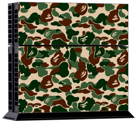 Sony PS4 Skin - Camouflage