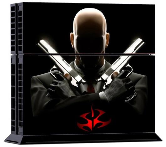 Sony PS4 Skin - Cool Hitman