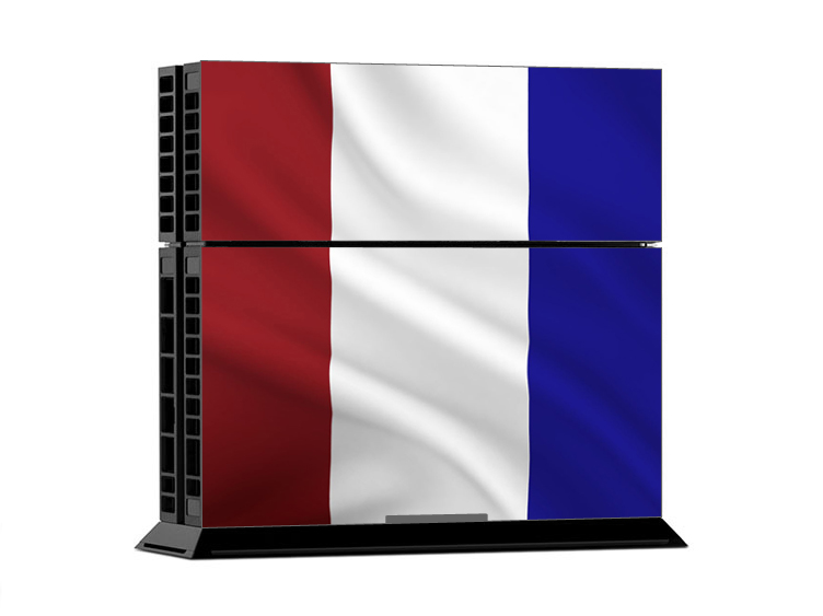 Sony PS4 Skin - French Flag