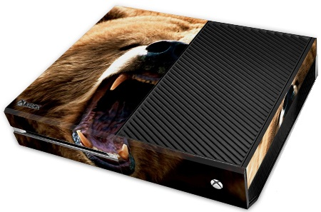XBox One Skin - Animal Bear