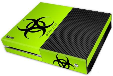 XBox One Skin - Bio Hazard